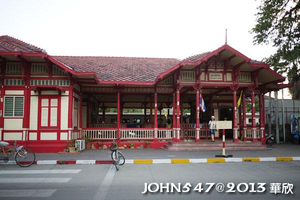 泰國華欣 Hua Hin火車站18