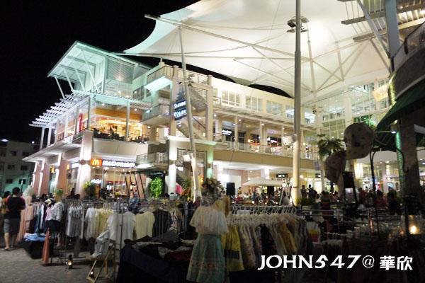 泰國華欣Market Village百貨公司與創意小市集3
