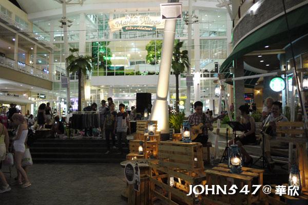 泰國華欣Market Village百貨公司與創意小市集4