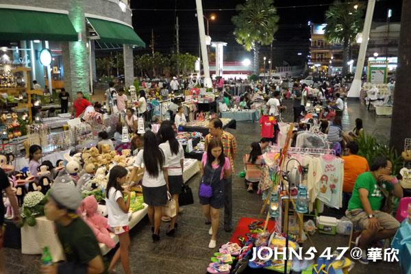 泰國華欣Market Village百貨公司與創意小市集6
