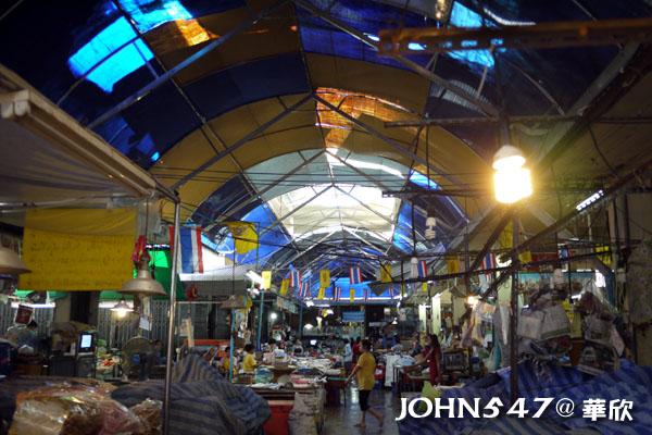 泰國華欣 魚市場