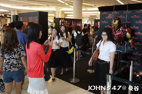 泰國曼谷百貨 SIAM PARAGON暹羅百麗宮百貨2013.8