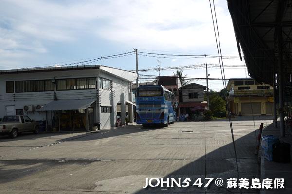 泰國曼谷到蘇美島自由行-5.巴士站車票時間5