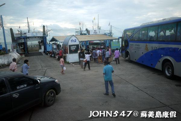 泰國曼谷到蘇美島自由行-2.DONSAK碼頭1
