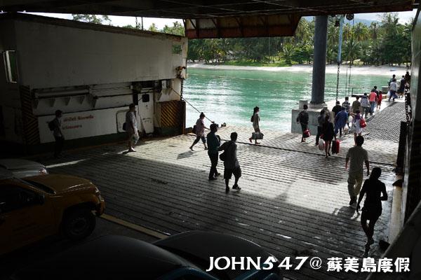 泰國曼谷到蘇美島自由行-3.搭渡輪8