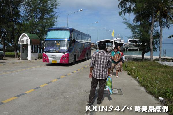 泰國曼谷到蘇美島自由行-4.NA THON納通碼頭2