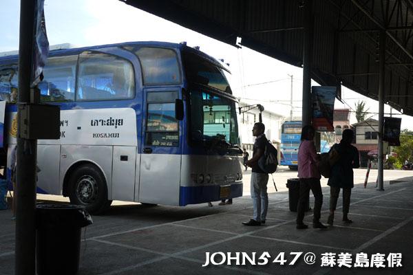 泰國蘇美島回曼谷巴士1