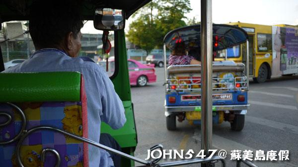 泰國蘇美島回曼谷巴士15曼谷北方巴士站蒙奇3