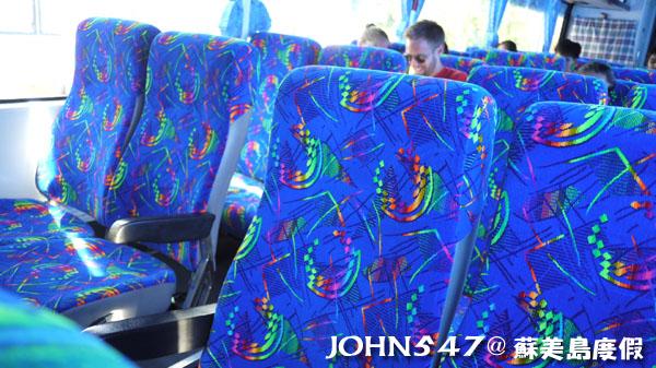 泰國蘇美島回曼谷巴士2