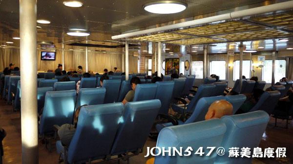 泰國蘇美島回曼谷巴士6搭渡輪2