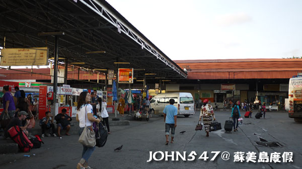 泰國蘇美島回曼谷巴士15曼谷北方巴士站蒙奇1