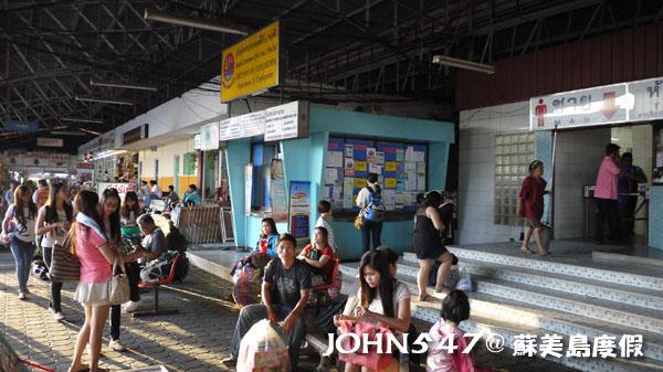 泰國蘇美島回曼谷巴士15曼谷北方巴士站蒙奇2