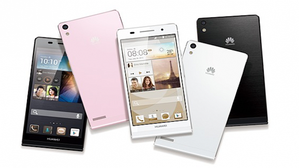Huawei Ascend P6 all color