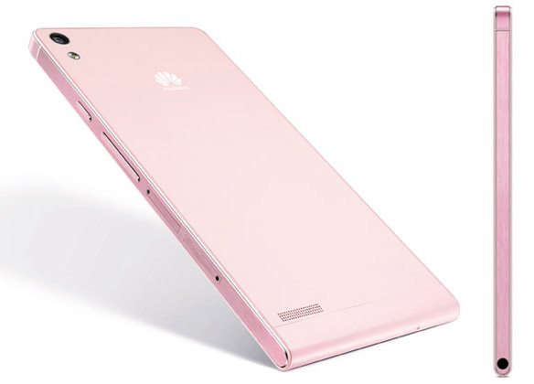 Huawei Ascend P6 pink3