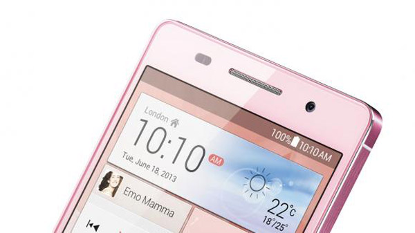 Huawei Ascend P6 pink4