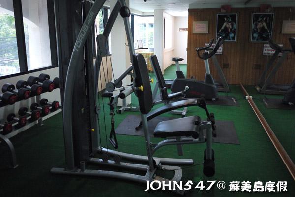 蘇美島查汶沙灘Chaba Samui Resort暹芭蘇梅島度假村4健身房.jpg