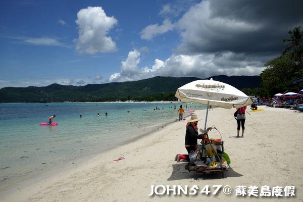 蘇美島Chaweng Beach查汶沙灘9.jpg