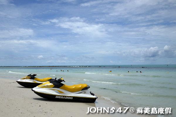 蘇美島Chaweng Beach查汶沙灘5.jpg