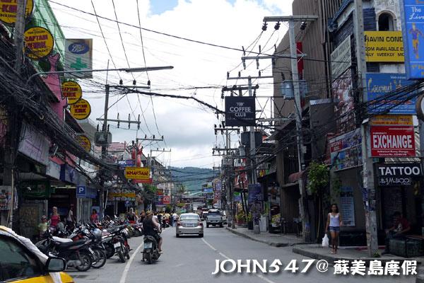 蘇美島Chaweng Walking Street Market查汶大街1.jpg