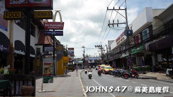 蘇美島Chaweng Walking Street Market查汶大街13
