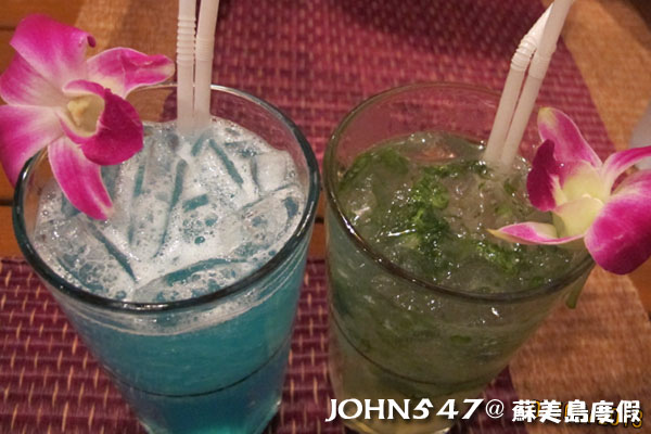 蘇美島Chaweng Street查汶小吃美食4.美式酒館調酒.jpg