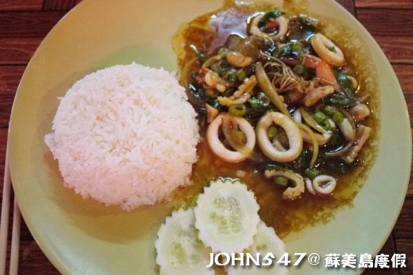 蘇美島Chaweng Street查汶小吃美食6.NongPloy泰式海鮮店7.jpg