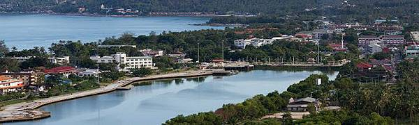 蘇美島Chaweng lake