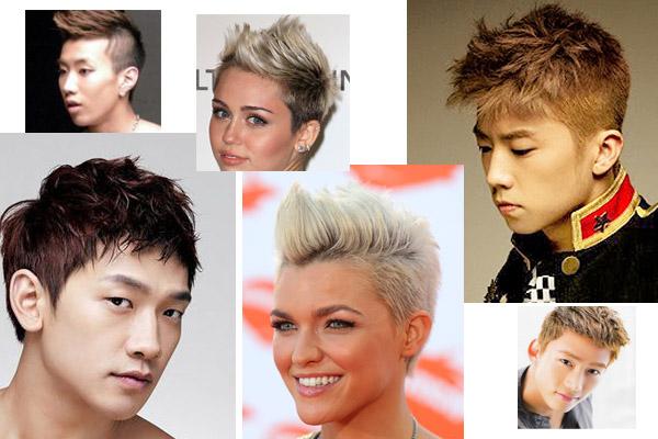 2013年最流行的髮型punk style