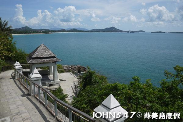 蘇美島騎機車環島3 Lad Koh View Point 觀景台2.jpg