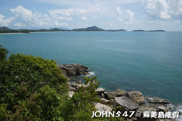 蘇美島騎機車環島3 Lad Koh View Point 觀景台7.jpg