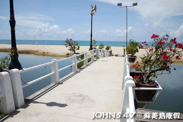 蘇美島騎機車環島6拉邁海灘 Lamai Beach4.jpg