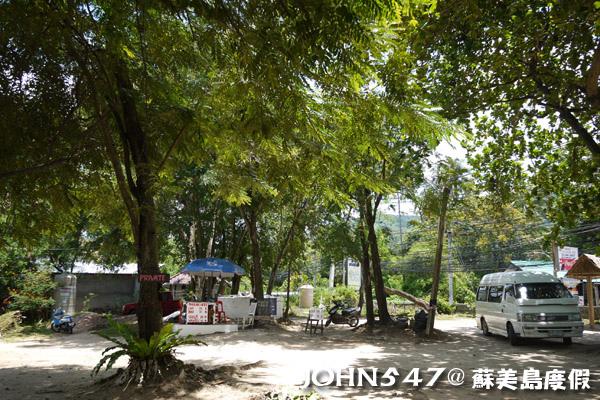 蘇美島騎機車環島7.Hua Thanon Beach 華塔儂海灘.jpg