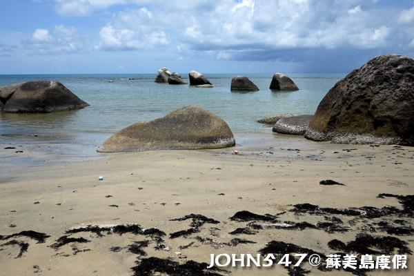 蘇美島騎機車環島7.Hua Thanon Beach 華塔儂海灘5.jpg
