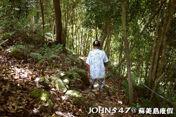 蘇美島騎機車環島9.Wang Sao Thong waterfall 瀑布2.jpg