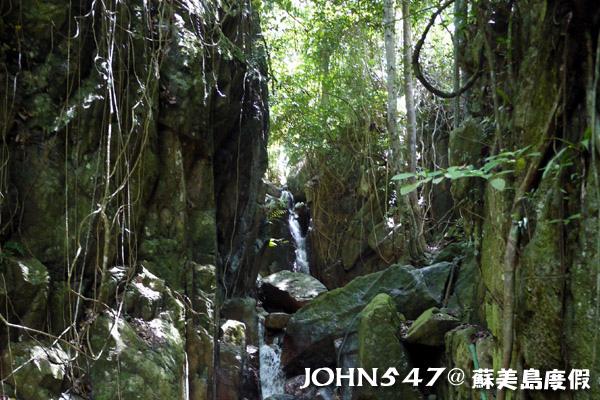 蘇美島騎機車環島9.Wang Sao Thong waterfall 瀑布4.jpg