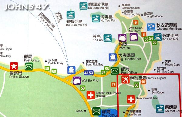 蘇美島自由行 下載地圖Ko Samui map3.東北區.jpg