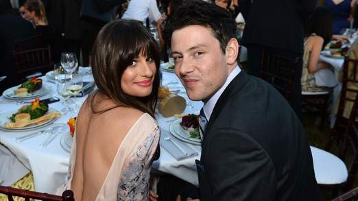 Monteith had reportedly been dating Glee co-star Lea Michele.jpg