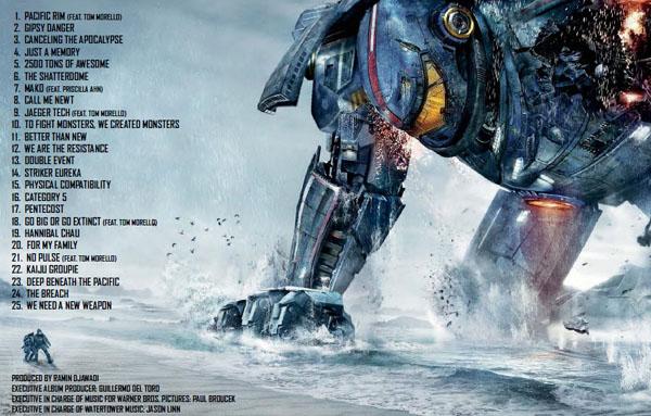 Pacific Rim 環太平洋電影原聲帶 Ramin Djawadi soundtrack list
