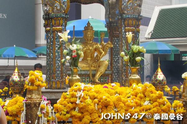2013泰國 愛樂威四面佛Erawan Shrine曼谷奇隆站 Chit Lom2