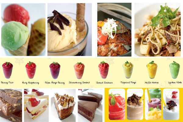 泰國曼谷百貨 La Villa 百貨 iberry冰品甜點專賣店