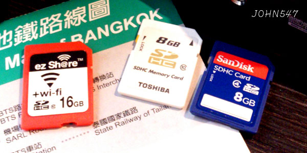 Wi-Fi SD記憶卡 分享影音更方便