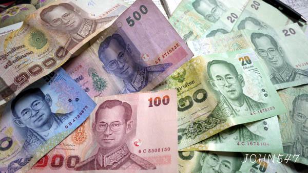 泰國紙鈔 泰銖