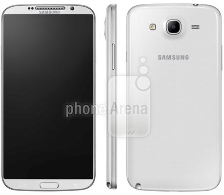 非正式流出的Samsung Galaxy Note 3照片