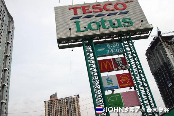 泰國曼谷Tesco Lotus連鎖大型超市1.jpg