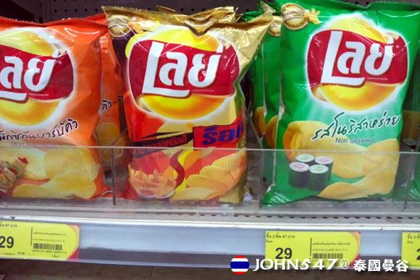 泰國曼谷Tesco Lotus連鎖大型超市 17波樂LAYS.jpg