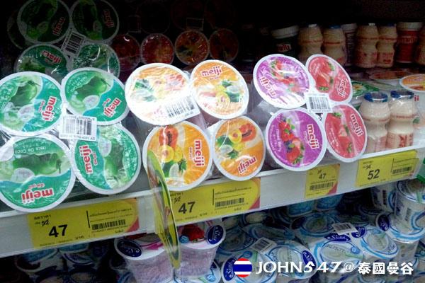 泰國曼谷Tesco Lotus連鎖大型超市 25優格.jpg