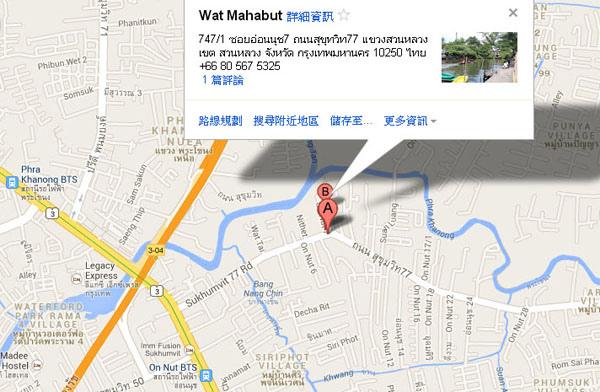 Wat Mahabut鬼妻廟Mae Nak 幽魂娜娜的家 map.jpg