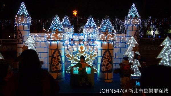新北市歡樂耶誕城點燈 遊樂設施9.jpg