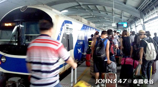 泰國曼谷機場捷運快線Airport Rail link