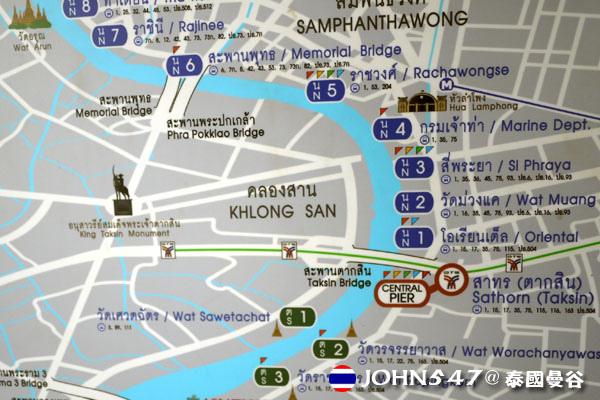 泰國曼谷Khlong Bangkok Yai運河長尾船19.jpg